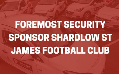 Foremost Security Sponsor Shardlow St James Football Club