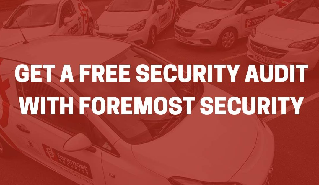 Get a free security audit from Foremost
