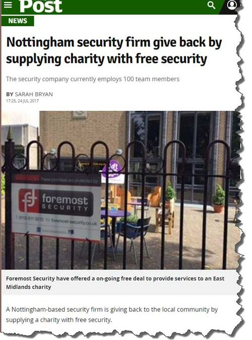 Foremost in Nottingham Post