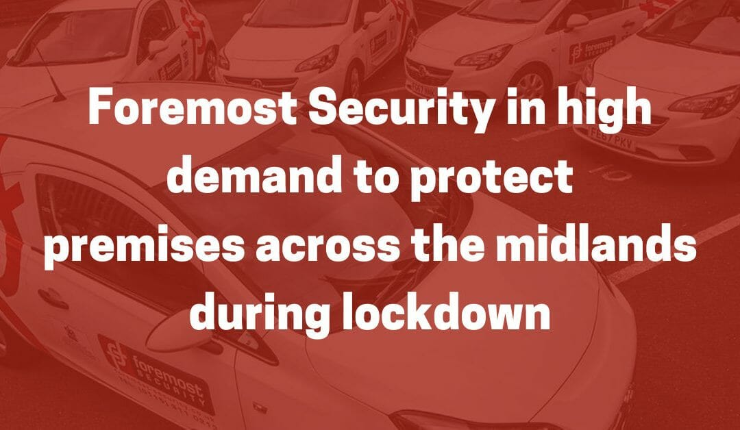 High security demand during lockdown